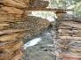 Les carrières de marbre rouge de jujols le 1er avril 2012