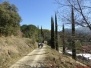Le chemin des mas de Reynès le 09 mars 2014