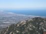 Le Roc de les Medes depuis la Vallée Heureuse le 02 mars 2014