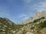 Les falaises de Vingrau le 27 octobre2013