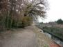 Le canal de Corbère le 29 janvier 2012