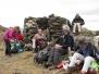 les crêtes de Serrabonne le 18 mars 2012